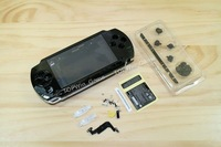 free shipping  for PSP 1000 shell fulliing housing black+2 Screwdrivers