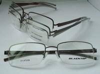 glasses free half rim stainless steel metal Eyeglasses/handmake tips /Optical Frames 12PCS/Lot Wholesale oculos de sol eyewear