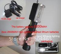 rechargeable multi-function family led emergency light,4400mAh lithium lon battery,600lm working light,200m flashlight