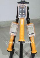 rechargeable multi-function led working light+led flashlight,4400mAh Lithium battery,5pcs/lot,best quality led hike light