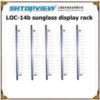 2014 Sale Sunglasses Shelves Loc-14b Reading& Sun Glasses Display Stand Rack Without Lock, Shelf, Eyewear Rod,show Shelf Board