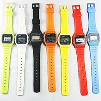 hot selling silicon rubber band wrist watches mens watch