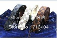 Faux leather Premium men women Unisex  Metal Buckle belt  free shipping