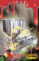 pneumatic stainless steel 304 semi auto filling machine 5-500ml for liquid and paste cream shampoo,cosmetic,tea,juice,milk etc