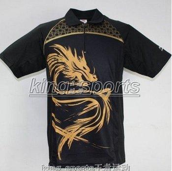 Hot!Wholesale 2011 New Li-Ning Men Red Table tennis Team Olympic2008 Shirt & Shorts Set MEN T-SHIRT