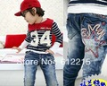 Fashion Shark Teeth Style Jeans Pants Trousers Baby Boys & Girls Cutton 1 Pack 5 Pieces Wholesale Only  C13446EM