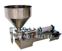 Cream filling machine(10-100ml) for shapoo,body lotion,cosmetic+new arrive +pneumatic+free shipping+stainless steel(China (Mainland))