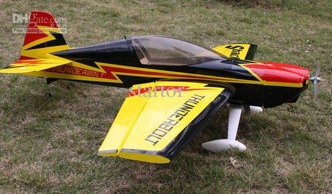 free shipping New and popular balsa plane electric 1.3m Strong 3D aerobatic SBACH 342 rc airplane kit(China (Mainland))
