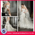 YW-12061232 Organza Wedding Dress Detachable Skirt(China (Mainland))
