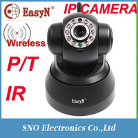 Wireless IP Webcam Camera Night Vision 10 LED IR WIFI Cam 2 WAY AUDIO SOUND Wifi Network IR NightVision P T With Color BOX