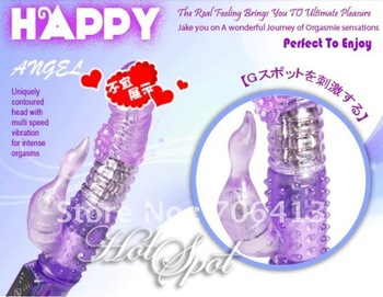 2012 Lastest rampant rabbit vibrator for intense orgasms, pearl enlarger sex toy sex product with clitoris stimulator