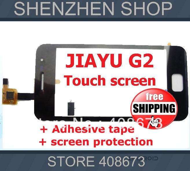 JY-G2 JIAYU G2 Original Touch Screen Digitizer/Replacement for JIAYU G2 Touch Panel Free Shipping AIRMAIL + tracking code