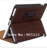 High quality Original Borofone business series crocodile Genuine leather smart cover case for Apple ipad 2/3.Free shipping