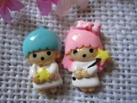 flat back resin Angel for phone decoration 12pcs/lot