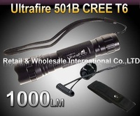 UltraFire 1000 Lumen CREE LED XM-L T6 Flashlight Torch Holster Waterproof Remote Pressure Switch