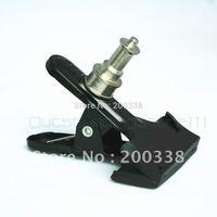 Clamp/Mount Stand/light stand/Tripod bracket w 1/4'' Tripod Stud Monopod Adapter