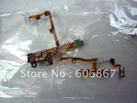 wholesale Free shipping Power Button Audio Earphone Jack Volume Mute Flex Ribbon Cable for  iPhone 3G 3GS flex cable