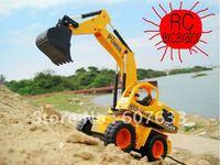 hot sell RC excavator Remote Control excavator RC toys excavator toy Remote Control Truck 6 Channel