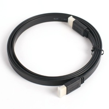 10 FT/3.0M FLAT HDMI CABLE HIGH SPEED+ETHERNET 1.4 FOR HDTV BLURAY PS3 XBOX 360 10FT/3.0M #  F401009b