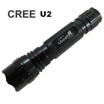 Ultratfire 1PC WF-  501B CREE XM-L U3 LED Flashlight 5 Mode 1200LM Waterproof High Power Torch by 1*18650+Mail Free