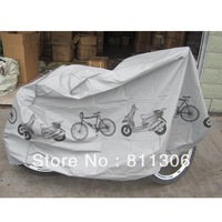 Freeshipping Dropshipping Grey Bicycle Cycling Rain and Dust Protector Cover Waterproof Protection Garage