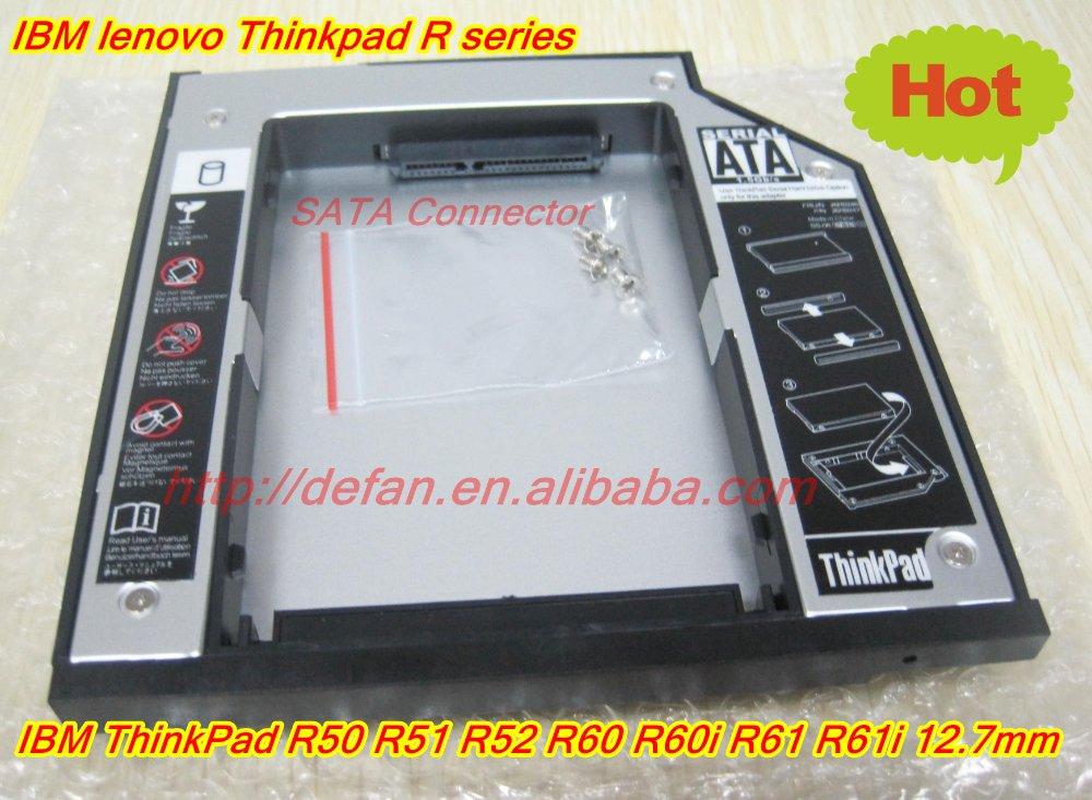 New ultrabay slim sata 2nd hdd hard drive caddy ibm thinkpad t60 t60p t61 t61p