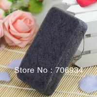 1pcs/lot 4colors Rectangle 100% Natural Charcoal Konjac Body Sponge Facial Wash Cleaning Puff 148*80*28