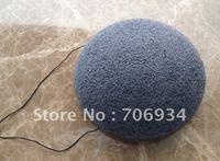 12pcs/lot 3colors Make-up Puff 100%Natural Charcoal Konjac Facial Sponge Facial Wash Cleaning Puff 88*88*13