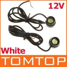 [Unbeatable At $X.99] 2 1.5W LED White Car Reverse Light High Power Eagle Eye Car Rear Back Up Reverse Tail Lamp Brake Lamp(China (Mainland))