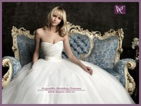 AWB0625 2012 Simple Sweetheart Latest Elegant Princess Bridal Wedding Gowns