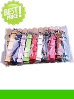 Wholesale Lots 40pcs 12mm leather Imitation  Watch Bands 10 colors available