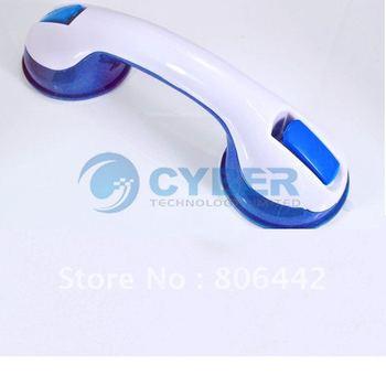 Suction Cup Safety Tub Bath Bathroom Shower Tub Grip Portable Grab Bar Handle 1514