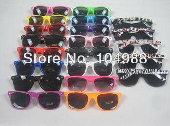 Fashional Sunglasses 80s Costume Glasses COLORFUL