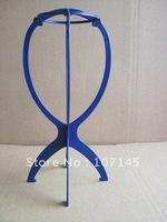 Free shipping!(2pcs/set) hair wig accessories hair stand,black/white hair holder display