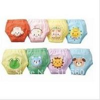 Baby Cartoon waterproof cotton potty training pants 4 layers Baby underwear Free shipping 10pcs/lot Best selling!