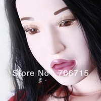 Free Shipping Real Doll With Oral Sex Big Soft Breast Can Be Filled With Water Solid Head /Hand/Feet/Two-channel Silicone Doll