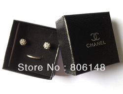Free shipping! fashion jewellery carrying cases/ gift boxes/jewelry packing&amp;display/earring/ring/necklace cases 7*7*3.5 JB-J017(China (Mainland))