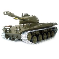 1:16 RC US M41A3 Bulldog with Smoke / Sound/Metal Belt  /  metal gear box & metal wheel / 3839-1 Upgrade version