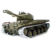 1:16 RC US M41A3 Bulldog with Smoke / Sound/Metal Belt  /  metal gear box & metal wheel / 3839-1 Upgrade version