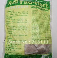 Free shipping Chinese medicine foot bath powder,100packet / bag Yao drug detoxification the the Yuzu sauna powder