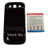 50pcs, 4500mAh For Galaxy S3 i9300 Extended battery with cover Japan/Korea version