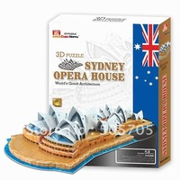 Sydney Pera House-3D puzzles DIY world's great architecture G168-2