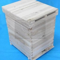 wooden beehive/beehive box/bee box for apiculture