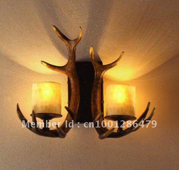 antieke wandlampen slaapkamer lampen, hal verlichting, bar lichten ...