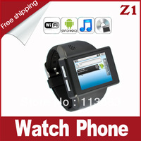 THE NEW!!! Z1 Android Phone Watch with Android 2.2 OS + 2.0MP Camera + 2.0 Inch Capacitive Touch Screen + 8GB Micro SD Card