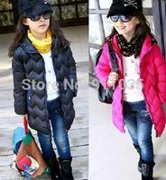 free shipping !2012 han children's wear down jacket girl down jacket nyujhong grows