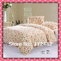 CORAL FLEECE 3pcs Fashion Single-size Soft Bedding Set Gift Free Shipping