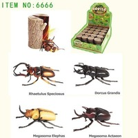 3D PUZZLE BEETLE  Part IV ( 4  ASSORTED )