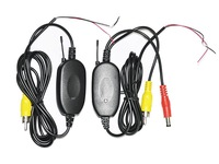 Wholesale cameras Free shipping 5 x 2.4Ghz Wireless RCA car Rear view Camera Video Transmitter & Receiver