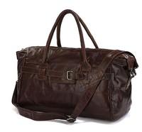 Cowboy Classic Vintage Cow Leather Travel bag Handbag Luggage bag #7079Q